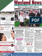 The Wayland News June 2021