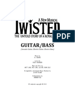 Twisted - Guitar and Bass