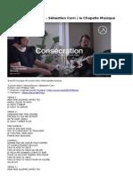 la-chapelle-consecration-cover-sebastien-corn-la-chapelle-musique