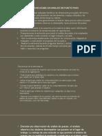 Evaluación Prof II Pasos Para Un Analisis de Puestos