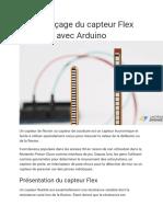 Interfaçage Du Capteur Flex Avec Arduino