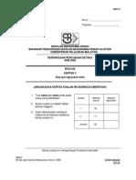 SPM Percubaan 2008 SBP Biology Paper 3
