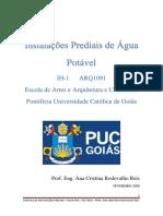 APOSTILA ÁGUA - 2020