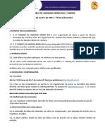 Regulamento 1º Torneio Amizade Mário Rui