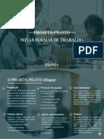 PBL - Novas formas de trabalho