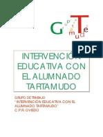 Intervencion educativa disfemia