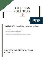 CIENCIAS POLITICAS UNIDAD N°1 pptx