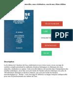 L'analyse de l'eau. Eaux naturelles, eaux résiduaires, eau de mer, 8ème édition PDF - Télécharger, Lire