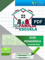 Cojedes 012 Media General y Técnica Guía Pedagógica Cada Familia Una Escuela