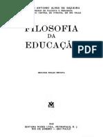 Conego Antonio Alves Siqueira_Filosofia Da Educação