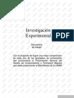 importancia de la investigacion y el experimento