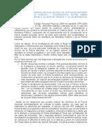 ESTABLECER Y DESARROLLAR CUAL ES ROL DE LA POLICIA NACIONAL Y DEL MINISTERIO PÚBLICO
