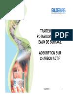 Adsorption Sur Charbon Actif