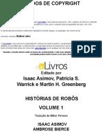 Historias de Robos - Vol. 01 - Varios Autores