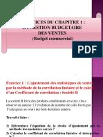 EXERCICES DU CHAPITRE 1
