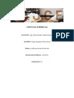 CIENCIAS JURÍDICAS-ENSAYO SOBRE LA EFICACIA SOCIAL DEL DERECHO