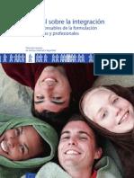 Manual UE de buenas prácticas para integración en inmigración