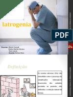 TRABALHO SAÚDE DO IDOSO - IATROGENIA 23-05