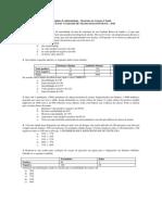EXERCICIOS Validade Dos Testes Dignosticos Mestrado 2016