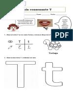Guía consonante T