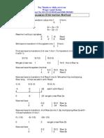 Gaussian Elimination Method