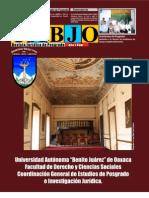 Revista Jurídica de Postgrado  UABJO 1