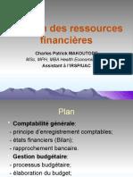 Gestion des ressources financières