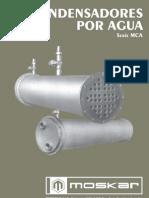 Condensadores Agua moskar