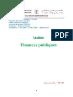 Chapitre III Elaboration de La Loi de Finances (1)
