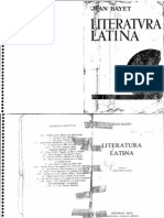 Bayet Jean - Literatura Latina