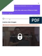 Insérez des images - Apprenez à créer votre site web avec HTML5 et CSS3 - OpenClassrooms_1604254657661