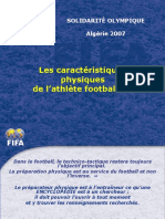 1.Paramètres du footballeur