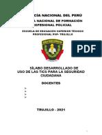 MODELO DE SILABO