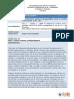 Ficha de lectura 4  ETICA