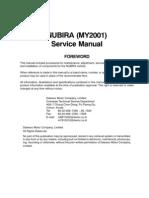 Nubira-Service manual