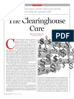 The Clearinghouse Cure