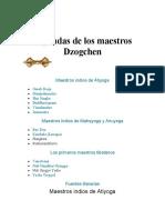 Leyendas de los maestros Dzogchen