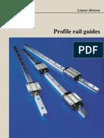 4184E Profile Rail Guides