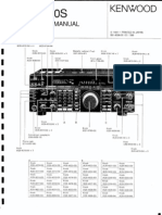 TS-850S Service manual and notes