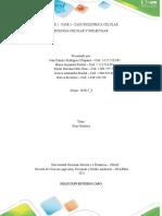 Unidad 2 - Fase 3 - Caso Bioquímica Celular