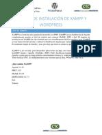Manual de Instalación de XAMPP y WORDPRESS (1)