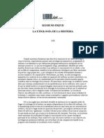 Freud, Sigmund - Etiologia de la histeria, La