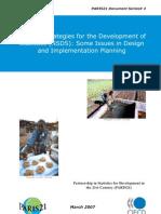 National Strategies for the Development of Statistics