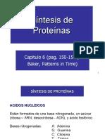 CV 9 Sintesis de Proteinas