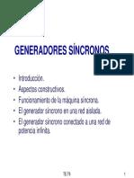 TEMA 9.- EL ALTERNADOR SÍNCRONO