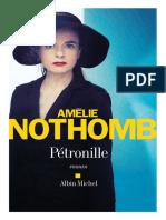 Amelie Nothomb Pétronille