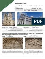 Análise de obras - Arte Românica e Gótica  (1)
