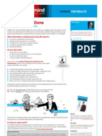 Getting Things Done Masterclass for professionals [MM-EN-SB]