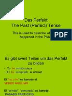 Das Perfekt Weak Verbs Power Point Year 10