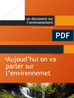 L'envirenment
